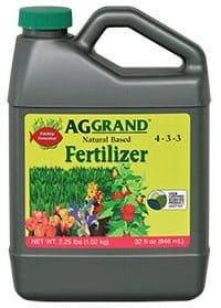 Become an AGGRAND Dealer and sell our 4-3-3 Natural Fertilizer with fish emulsion base.