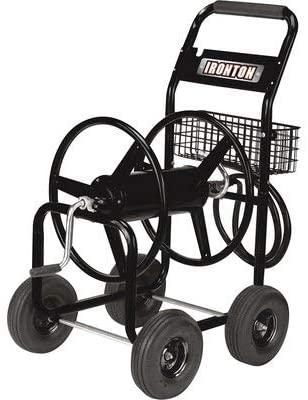 The Ironton Garden Hose Reel Cart - Holds 5/8in. x 300ft. Hose
