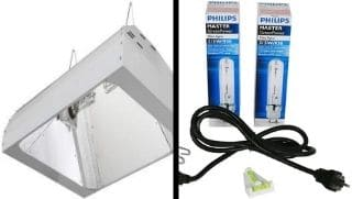LEC 630 Grow Lights - Double Ended with light bulbs.